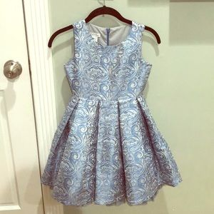 Other - Blue and silver dress